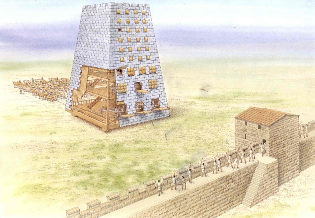 The Helepolis at Rhodes